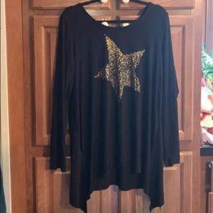 Torrid Super Soft Star Shirt Plus Size